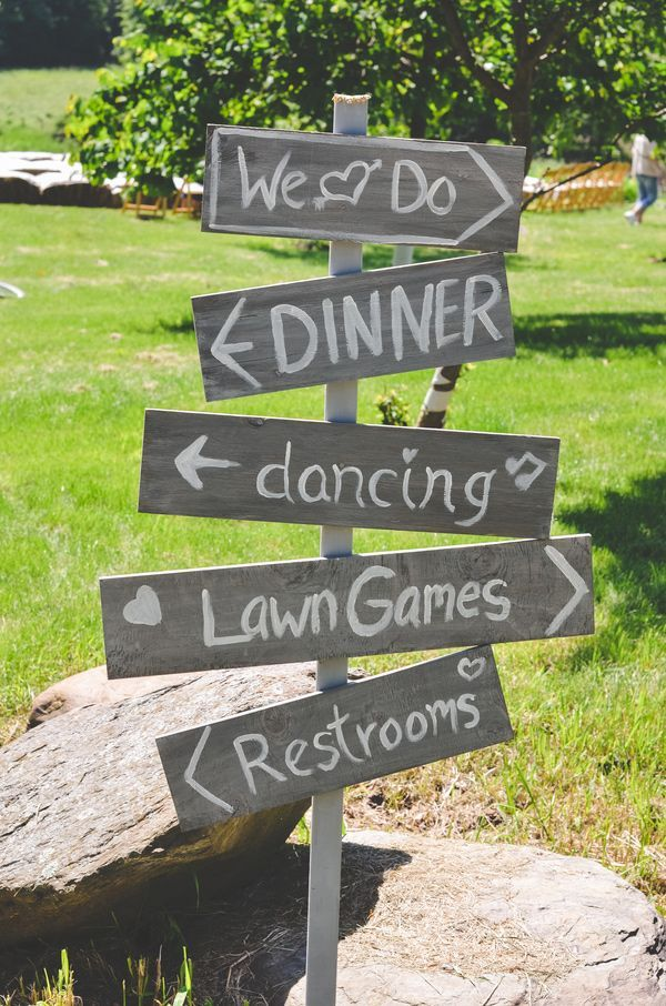 yard wedding games 2014 DIY wedding ideas