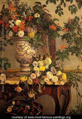 Flowers Frederic Bazille