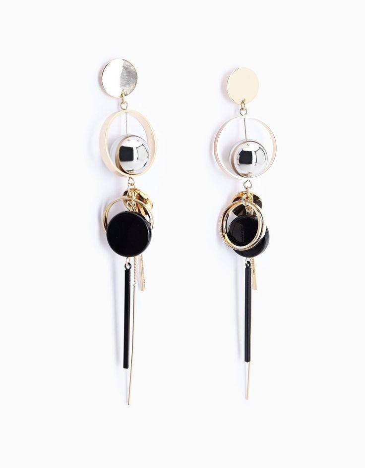 Set of 2 ball and multi-charm bag pendants - Jewellery   Stradivarius Česká republika