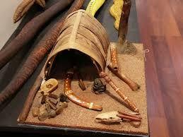 Aboriginal lifestyle display