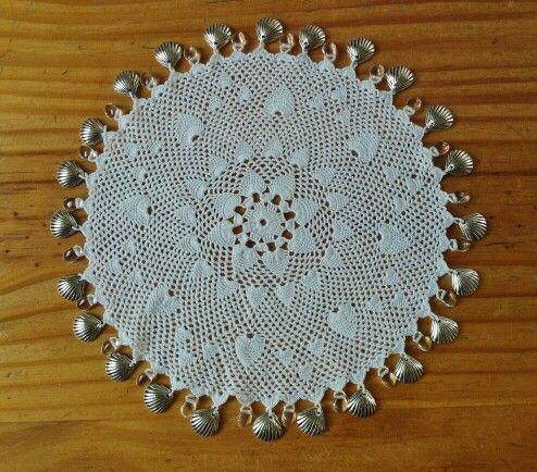 Crochet milk jug cover