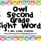 These go with my Owl Word Wall.  Enjoy!!!...