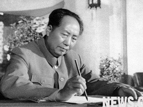 mao in 1950s