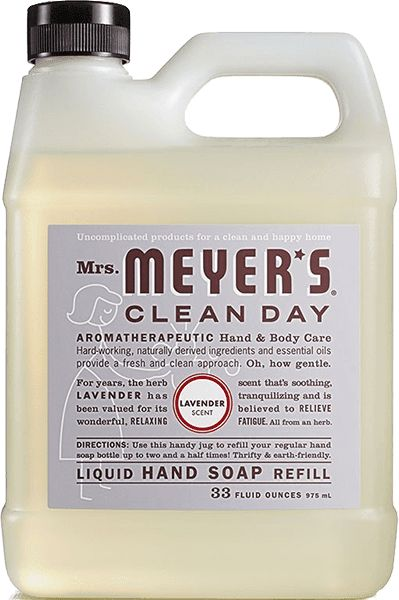 Gel Hand Soap Refill Cleaning Day Paraben Free Products Soap