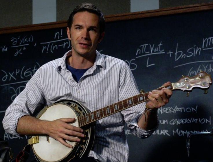 James, our banjo-strumming physicist.. :0)