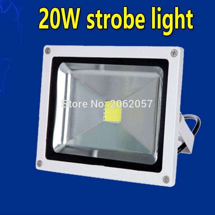 [Visit to Buy] 20W white strobe light disco dj strobe lighting soundlights Stroboscope club stage lighting effect flash party lights #Advertisement