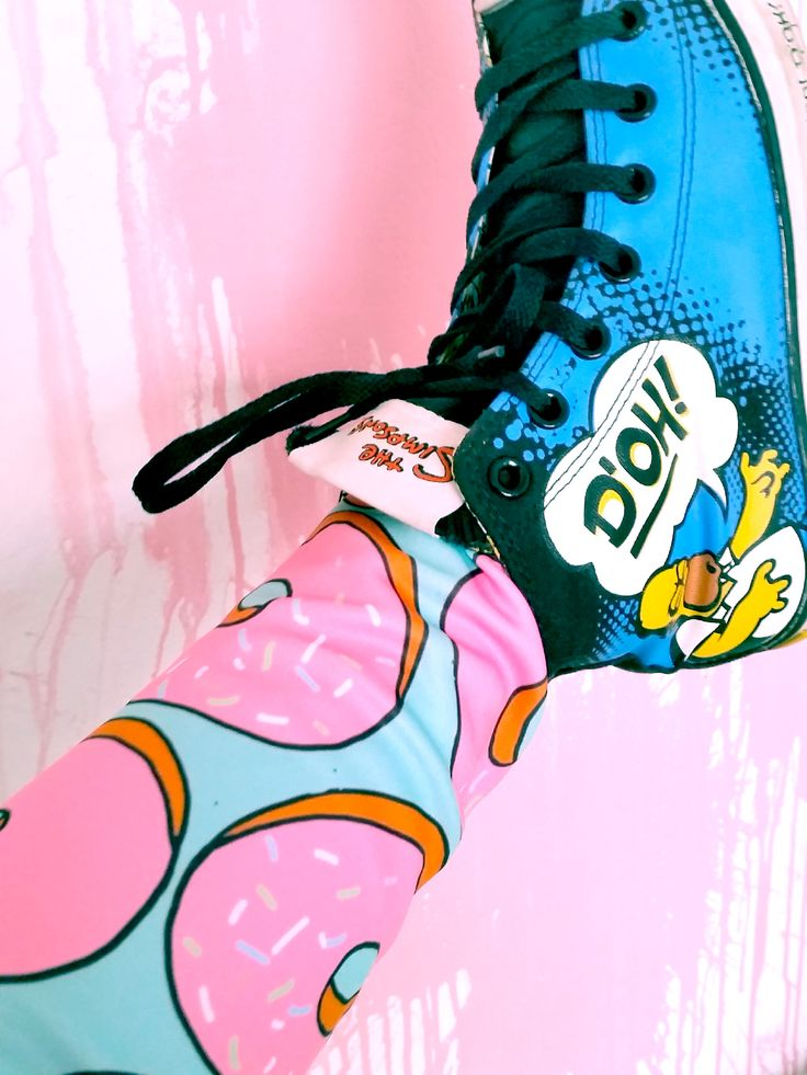 SUGAR RUSH from head to toe! And Homer Simpson approves, obviously.  Normal cut…