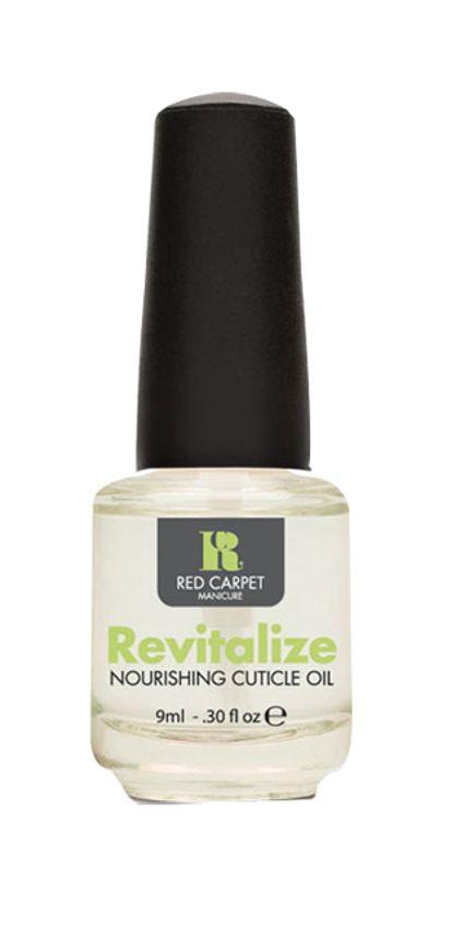Το Revitalize Nourishing Cuticle Oil ενυδατώνει το δέρμα και τα πετσάκια που περιβάλλουν το νύχι και συμβάλλει στην δημιουργία υγιών και ανθεκτικών νυχιών. Είναι ένα μείγμα φυσικών ελαίων που διεισδύει σε βάθος και προστατεύει φυσικά τα νύχια και το δέρμα. Κατά την χρήση του τοποθετείτε μία μόνο σταγόνα σε κάθε επωνύχιο και κάνετε ελαφρύ μασάζ για να απορροφηθεί.     Τιμή 4,50€