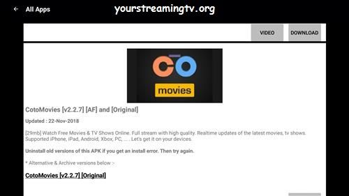 Coto Movies APK Download & Install Guide – Your Streaming TV