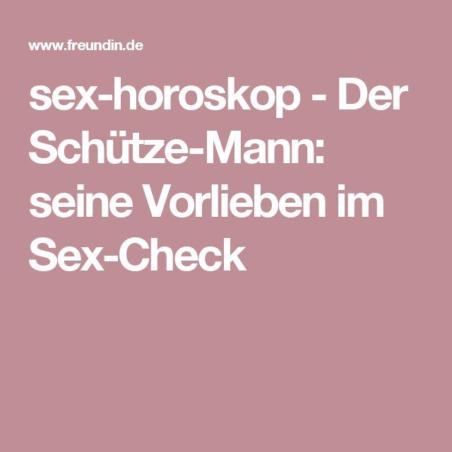 sex-horoskop - Der Schütze-Mann: seine Vorlieben im Sex-Check