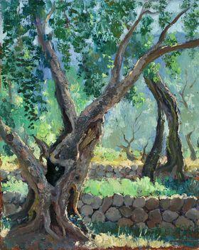 Josep Coll Bardolet (Campdevànol, Girona, Catalonia, 1912 - Valldemossa, Mallorca, 2007) - 'Marjades'