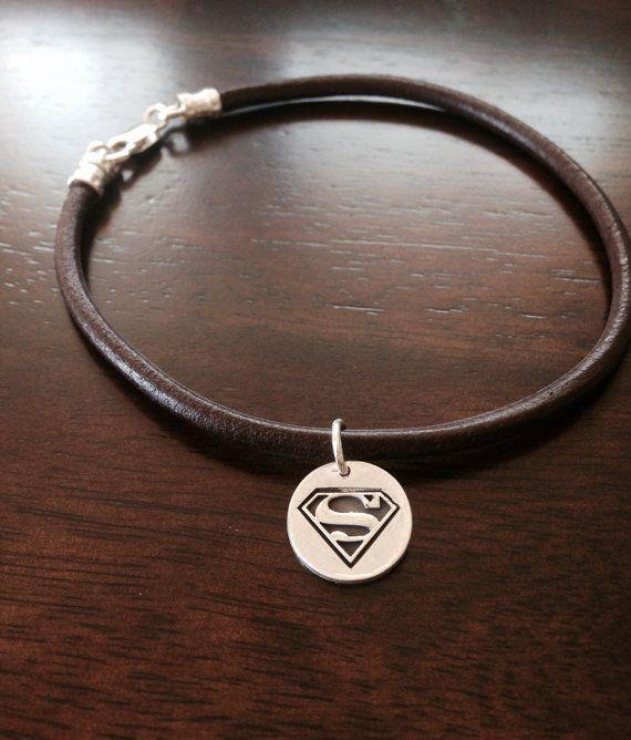 Superman / Superwoman Bracelet by ByLiad on Etsy, $55.00