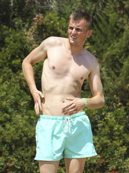 Pavol Bajza of Parma FC looks on during Parma FC Pre-Season Training Session at Rosa Marina Resort on July 8, 2013 in Ostuni, Italy.