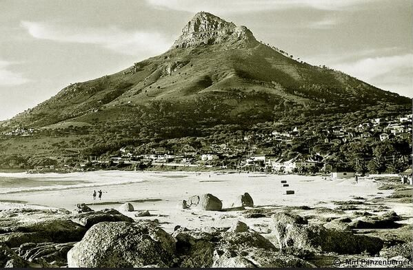Camps Bay beach in 1952!  #MyntCafe #CampsBay #TBT