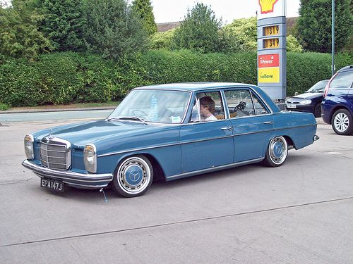 Old diesel mercedes are one of my favorite cars. I want to have one one day.