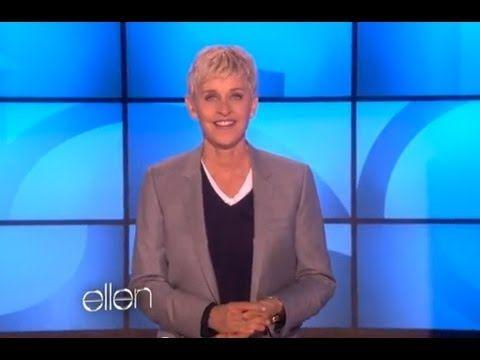 Ellen Addresses Her JCPenney Critics... best speech ever