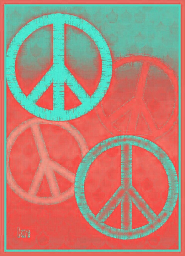 ✌Peace Sign Art Collage __[Peace sign Art by KN]  ___11/23/2016