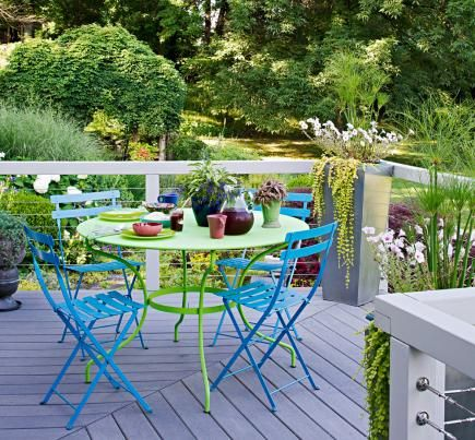 30 ideas to dress up your deck