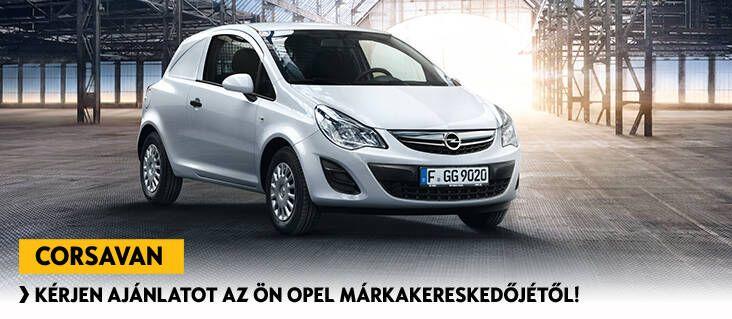 Opel Corsavan   stílusos városi transzporter   Opel Magyarország