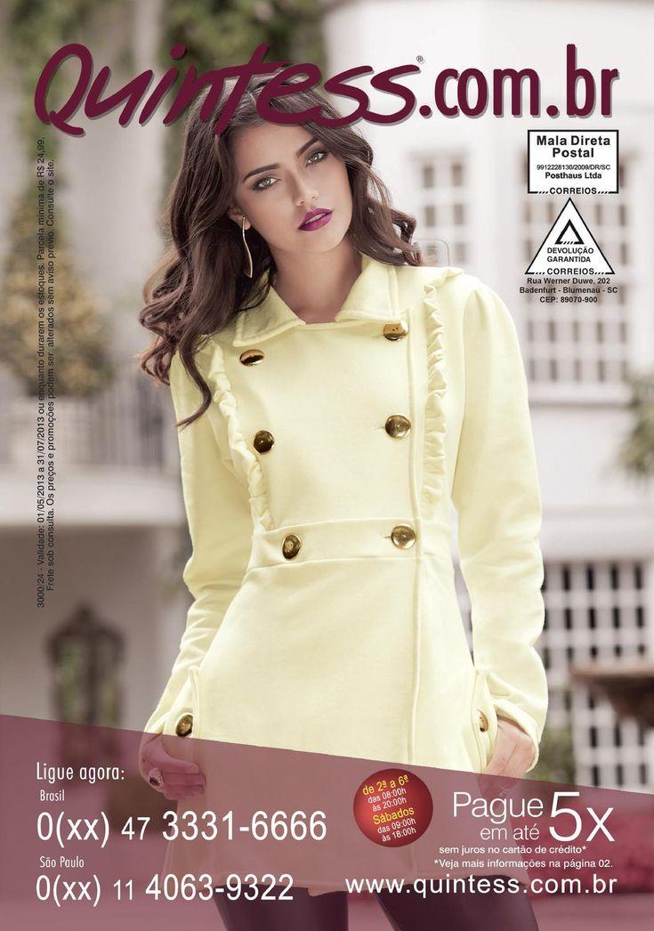 Quintess 3024  Revista de moda feminina onde a mulher fica sempre na moda. Com as melhores novidades baseadas nas tendências da Europa.