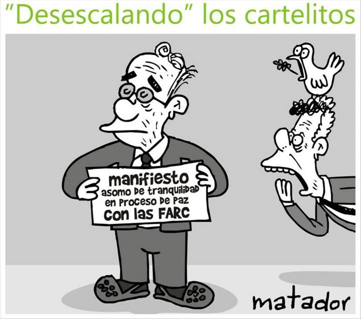 (1) Julio 2015 - Matador - Caricaturista
