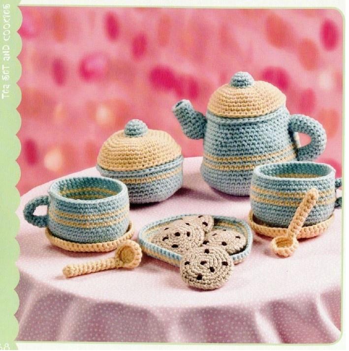 17 Best images about tea set crochet on Pinterest ...
