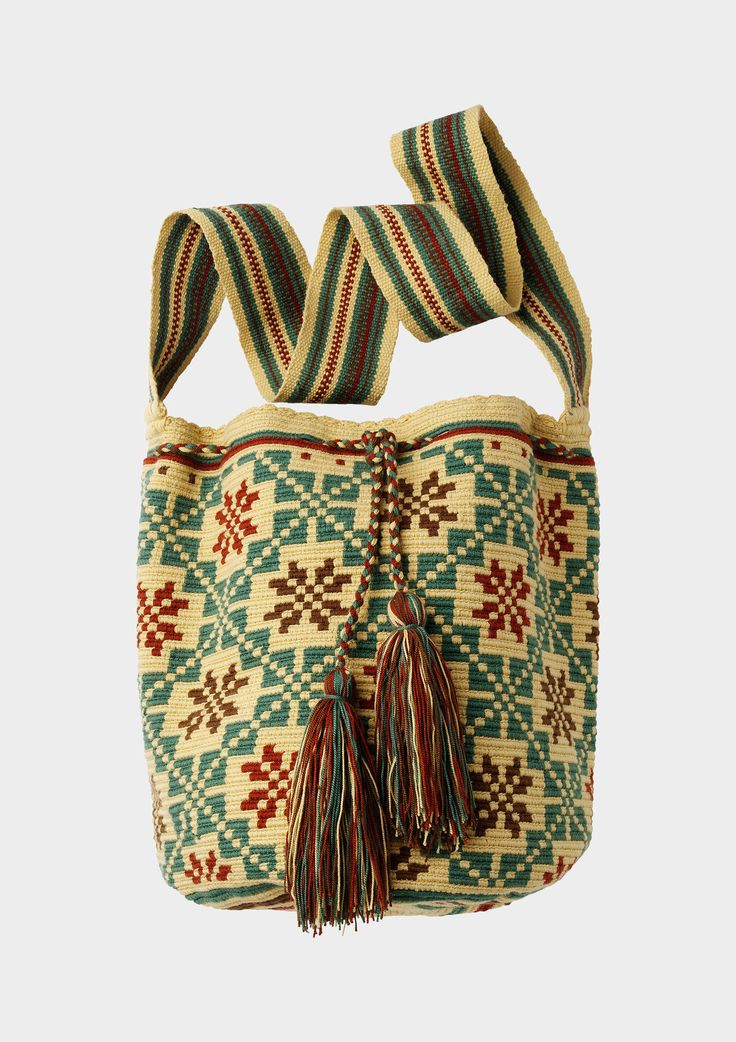 WAYUU LARGE BAG - handwoven in Colombia | TOAST UK