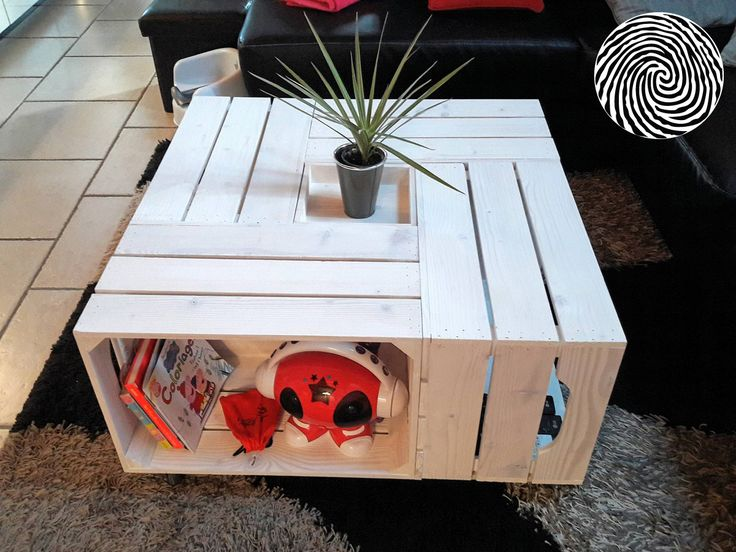 170 best caisse table basse table d 39 appoint coffee table images on pinterest cottage. Black Bedroom Furniture Sets. Home Design Ideas