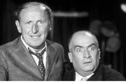 Bourvil et Louis de Funes