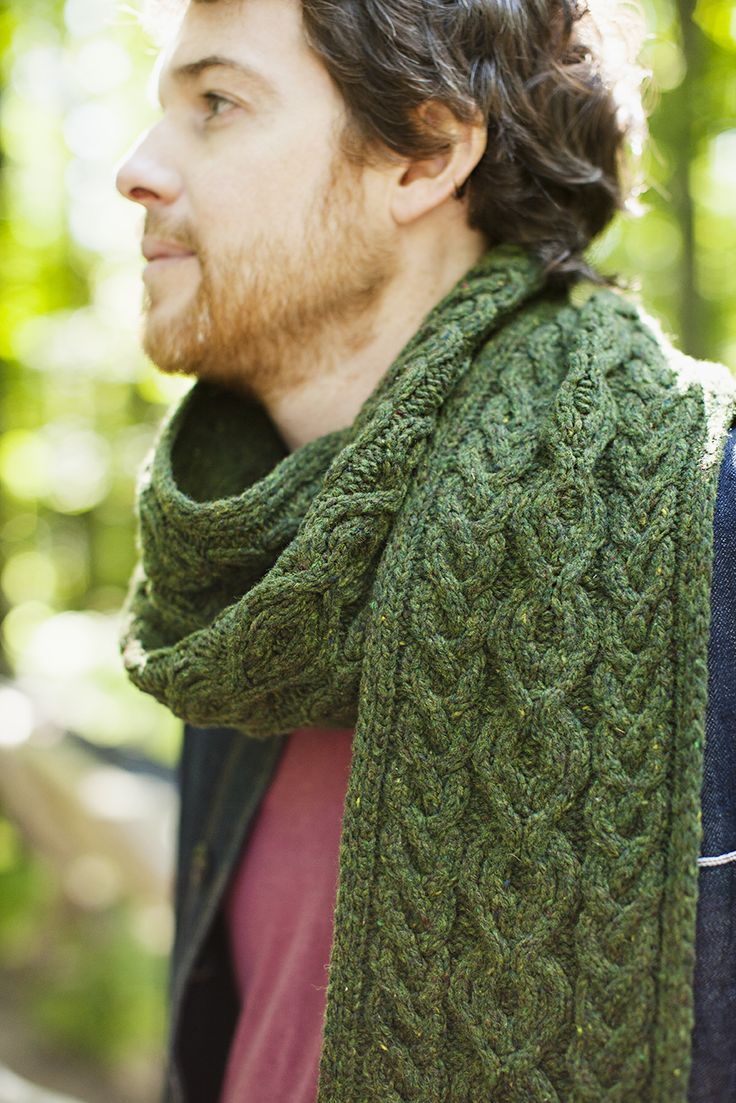 Brooklyn Tweed / Guilder #bluescarfproject - mmm it looks so warm and cozy!