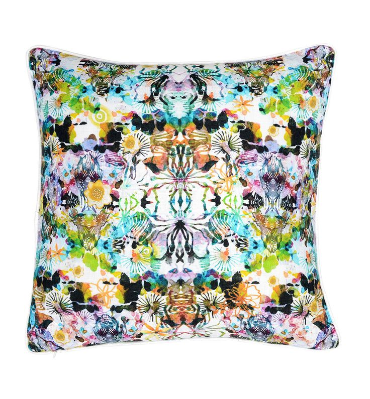 100% Linen double sided digital print cushion. Australian made recycled fibre inner insert is optional Finished size 45 x 45cm Designed in Sydney - See more at: http://www.urbanroad.com.au/shop/cushions/jasmin-rose-cushion/#sthash.8WfdwefE.dpuf