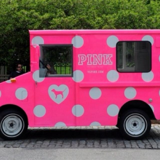 PINK car :)