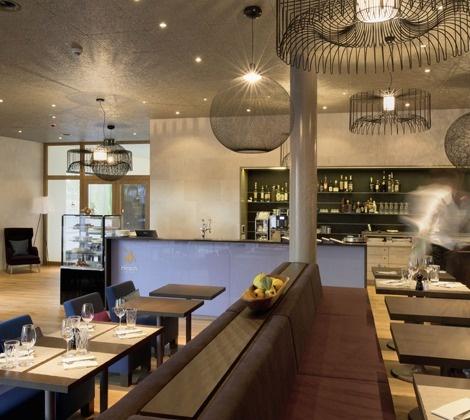 Innenarchitektur Café & Bistro Hirsch, Ennetbaden, Schweiz