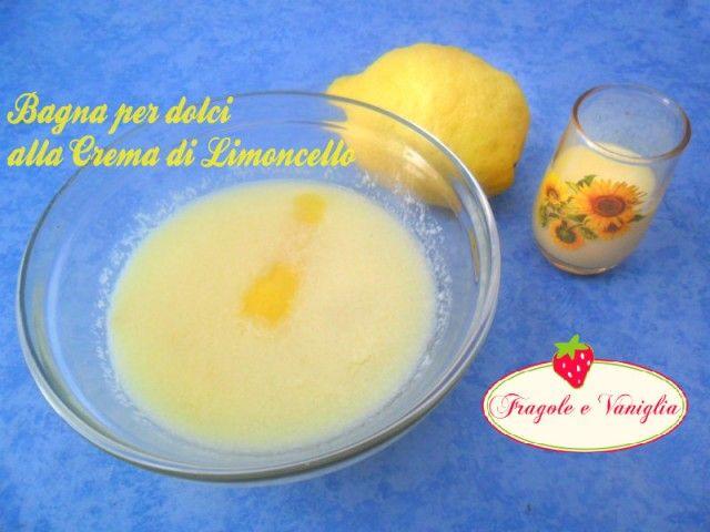 La bagna per dolci alla Crema di Limoncello è indicata per preparazioni di dolci alla frutta,molto delicata nel gusto,per pan di spagna e altri dolci vari.