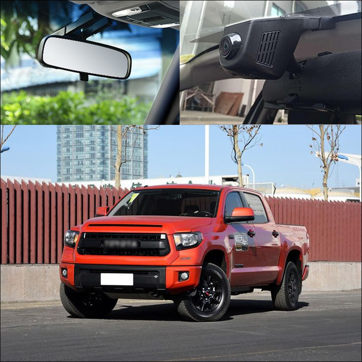 For Toyota TUNDRA TRD pro APP Control Car Wifi DVR Driving Video Recorder Wide Angle FHD 1080P hidden type Car Black Box