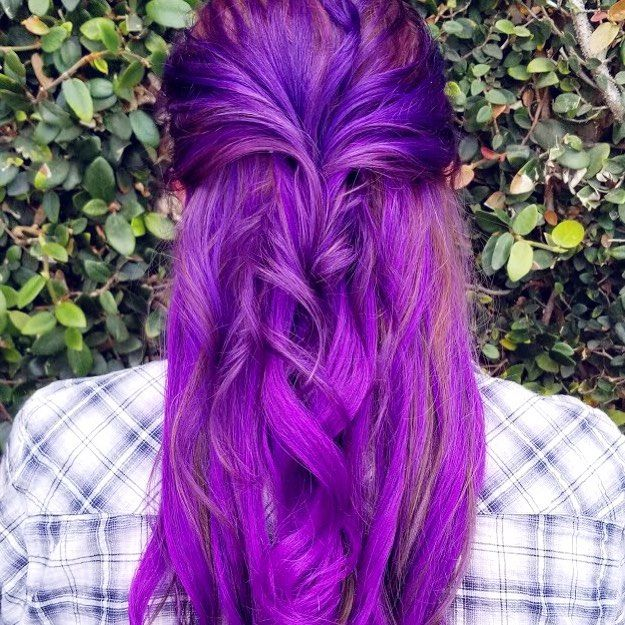Purple is the color of royalty           #hairgoals #hairextensions #hairsalon #californiahair #sanfrancisco #sancarlos #redwoodcity #sanjose #style #fashion #fashionblog #wavyhair #beautyblogger #customextensions #extensions #pretty #cute #haircolor #hairtrends #transformation #hairstyle #hairblog #potd #instahair #haircare #longhair #behindthechair #haircolor
