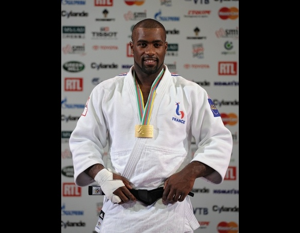 Teddy Riner, judo player for France's Olympic Team.