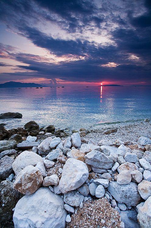 Gradac Sunset, Dalmatia, Croatia  Photo Credit: http://valovephotography.deviantart.com/art/--308130397