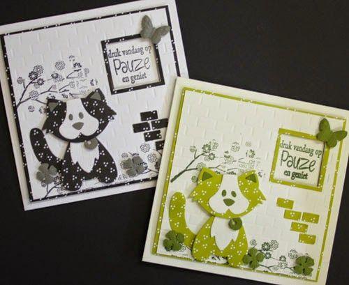 Marjoleine's blog: Een paar varianten van de kaarten van de aanschuifworkshop