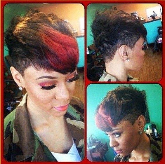 Short Haircut Ideas for African American Women