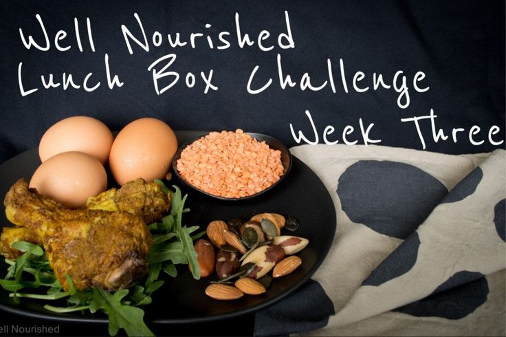 Well Nourished Lunch Box Challenge - Week Two. This weeks focus is protein, why it is so important & lots of inspiring ways to include it in school lunches.