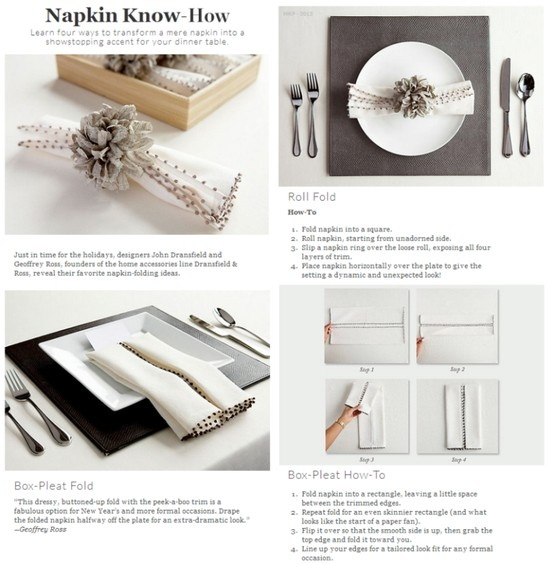 67 best Napkin Folding images on Pinterest Folding napkins