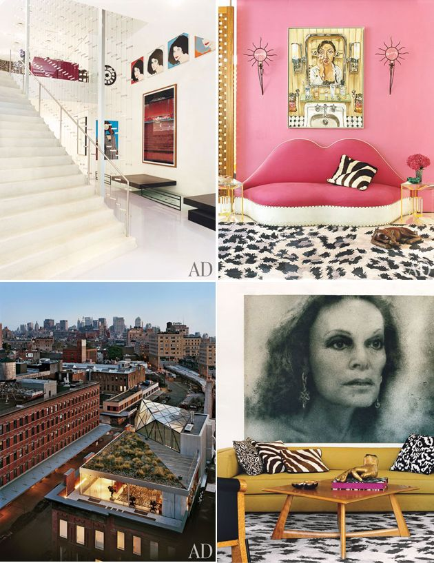 Fashion to interiors a look inside 5 runway designers 39 homes new york inspiration and house - Introir dijane ...