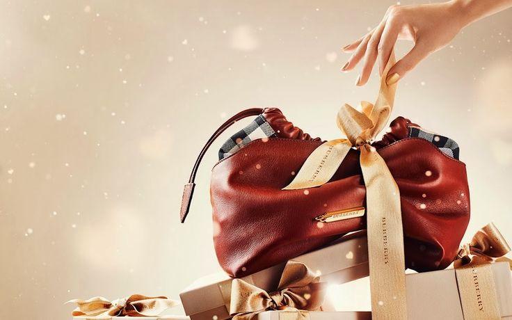 Подарки на Новый год и Рождество от Барберри