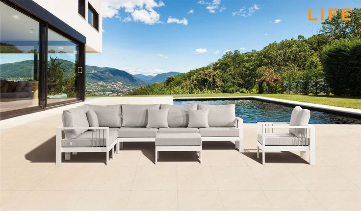 Lounge set Mikki Tuinmeubel Collectie LIFE Outdoor Living - lounge gartenmobel outlet
