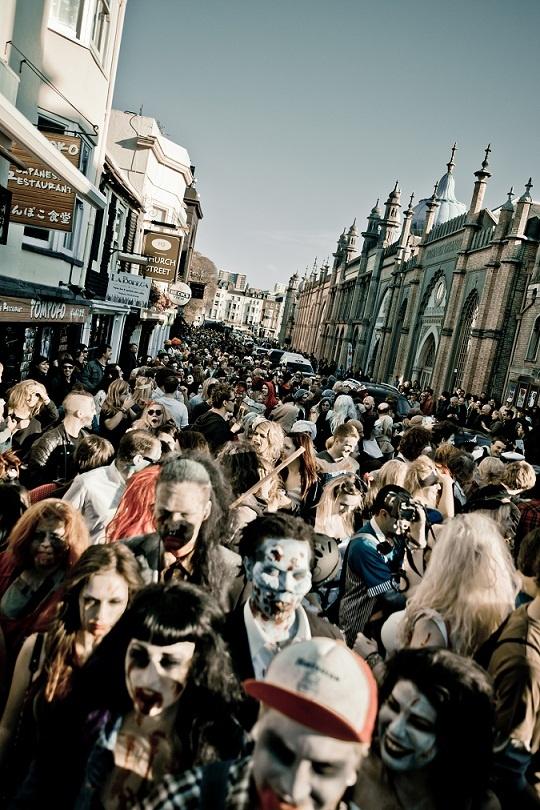 Brighton Zombie Walk Photo Dom Olliver