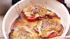 Pascale Naessens | Kabeljauw met mosterd-sojasaus en tomaten