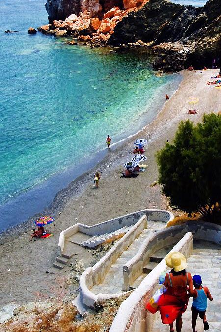 Bardia Beach, Folegandros, Greece - Join & Win A #Holiday #Vacation #Trip - http://shesaid.com/win-a-holiday/?ts=835&utm_medium=facebook&utm_source=jp&utm_campaign=outreach