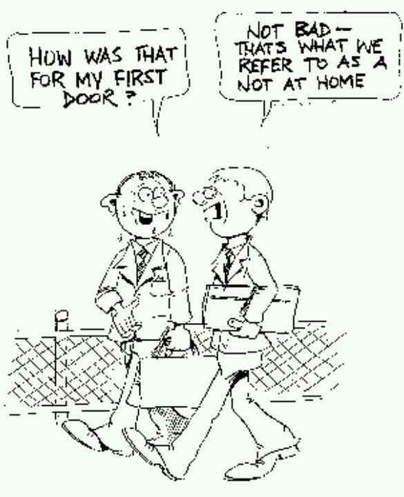 So funny and true. But Jehovah is with us so don't fret...... that happened to me this morning though