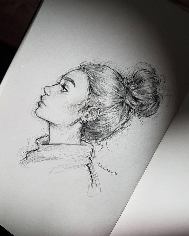 Es war schon eine Weile, dass ich langsam wieder skizzieren konnte, aber es wird